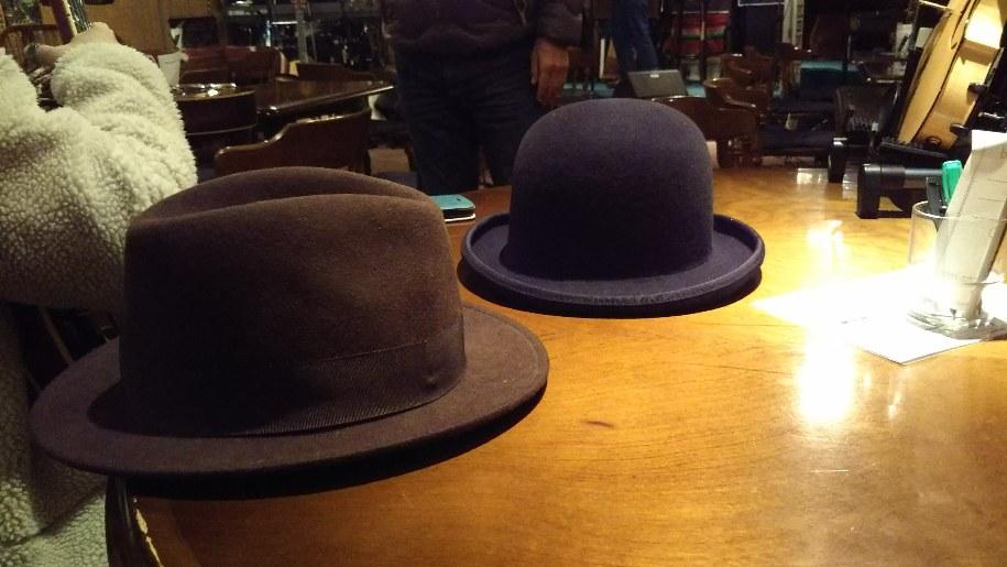 謎のジェントルマンからプレゼントされた帽子